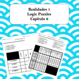 Spanish Logic Puzzles Realidades 1 6A and 6B