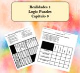 Spanish Logic Puzzles Realidades 1 9A and 9B