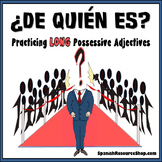 Spanish Long Possessive Adjectives Practice_De quién es