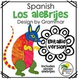 Spanish Los Alebrijes Design by Grammar_Editable