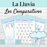 Spanish Comparisons Writing Activity Los Comparativos | La Lluvia