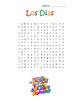 Spanish Days Dias Word Search Puzzle