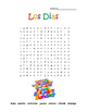 Spanish Days Dias Word Search Puzzle