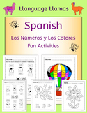 Spanish Numbers and Colors - Las Mariquitas