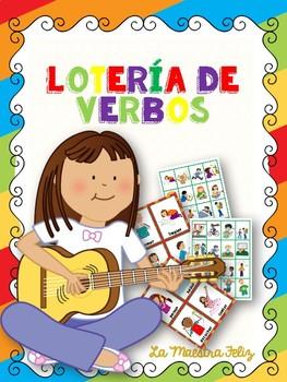 Spanish Loteria de Verbos/ Bingo