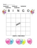 Spanish Loteria (Bingo) Card