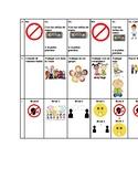 Spanish MAC Classroom Management Chart