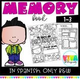 Spanish MEMORY BOOK 1-3