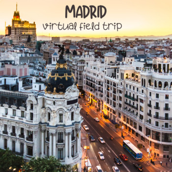 Spanish Madrid Webquest using Street View