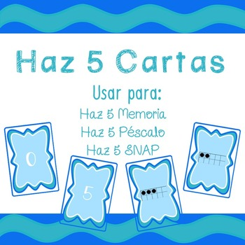 5 Frame Cards (Spanish) - Instructions for 3 Games
