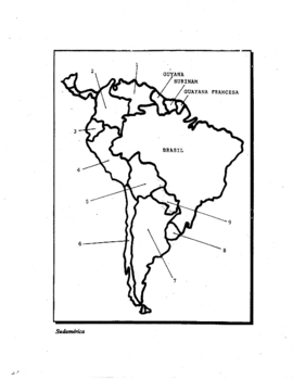 Spanish Maps (for labeling geography)