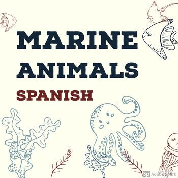 Spanish Marine Animals Activities