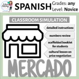 Spanish Market Mercado Simulation