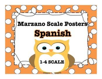 Spanish Marzano Scale