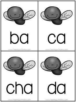 """Spanish: !Mata la mosca! (Sílabas con """"a"""")"""