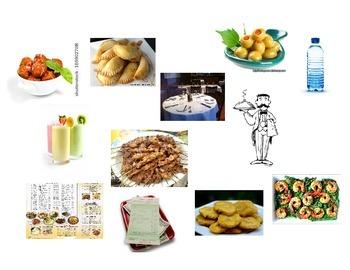 Spanish Matamoscas (Flyswatter) Game: Food and Café Vocabulary
