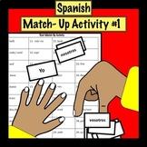 Spanish Match Up Activity