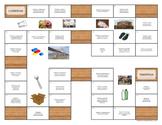 Spanish Materials Game ¿De qué está hecho? ¿Qué se puede h