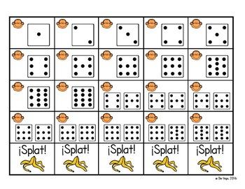 Spanish Math - A Number Sense Game