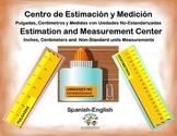 Spanish Math Estimation and Measurement / Estimacion y Med