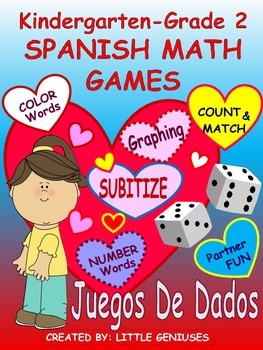 Spanish Math Games for Kindergarten to Grade Two