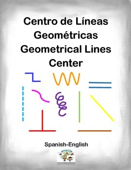 Spanish Math Geometrical Lines / Lineas Geometricas in a S