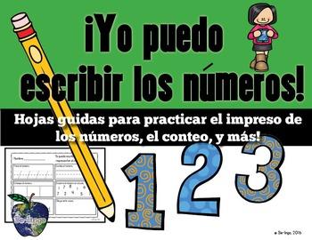 Spanish Math - Number Practice 1-20