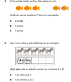 Spanish Math Test with Kinder TEKS - 15 Questions!