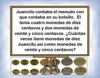 Spanish Math Word Problems II / Problemas Mult. Y Div. Escritos II in a Station