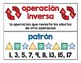 Spanish Math Word Wall 2nd Grade / Pared de palabras (matemáticas) CC.OA