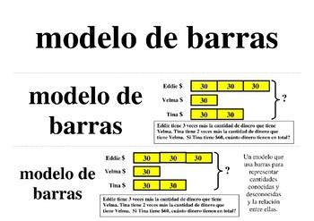 Spanish Math Word Wall 5th Grade