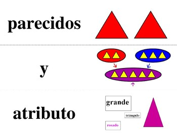 Spanish Math Word Wall Kindergarten