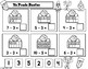 Spanish Math Worksheets:  Halloween Theme