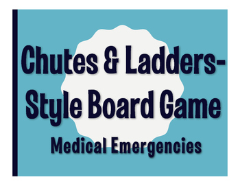 Spanish Medical Emergencies Chutes and Ladders-Style Game