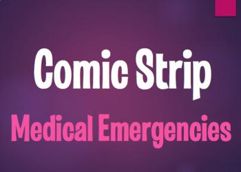 Spanish Medical Emergencies Comic Strip