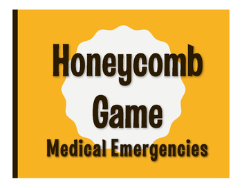 Spanish Medical Emergencies Honeycomb