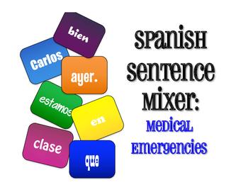 Spanish Medical Emergencies Sentence Mixer