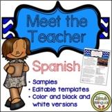 Spanish Meet the Teacher