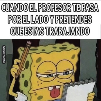 Spanish Memes about School