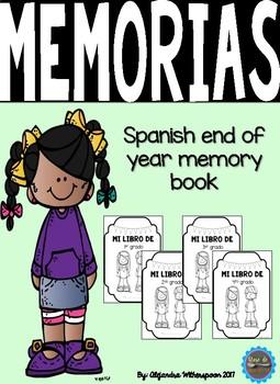 Spanish Memory Book/Libro de memorias