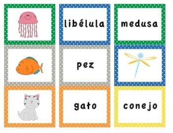 Spanish Memory Game
