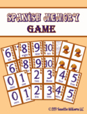Spanish Memory Game (Numbers 0-10)