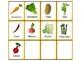 Spanish Memory Game: The Vegetables - Los Vegetales