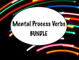 Spanish Mental Process Verbs (Verbs of Cognition) BUNDLE- PowerPoint, Worksheets