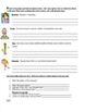 Spanish Menu and Food / Comida Reading and Writing Activity