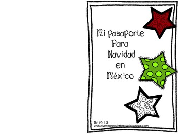 Spanish Mexico's Traditions Booklet