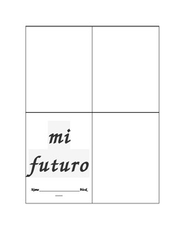 Spanish Mi Futuro (My Future) Ir a Practice Activity