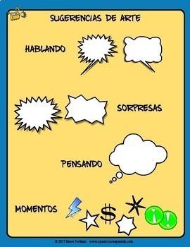 Spanish Microcuentos Creative Writing. Escribir en Español con Cuentos Creativos