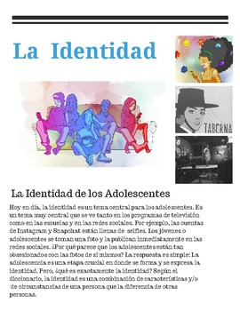 Spanish Unit Level 3+ AP-Identity,Culture-25+ Differentiated Activities-Bundle