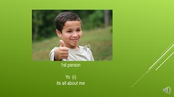Spanish Mini-lesson  -Singular Subject Pronouns